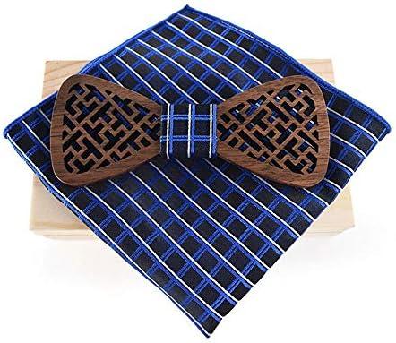 YAOSHI-Bow tie/tie Corbatas y Pajaritas para Bufanda de Boda Hecha ...