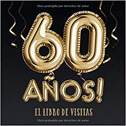 60 años - El libro de visitas: Decoración para el 60 ...