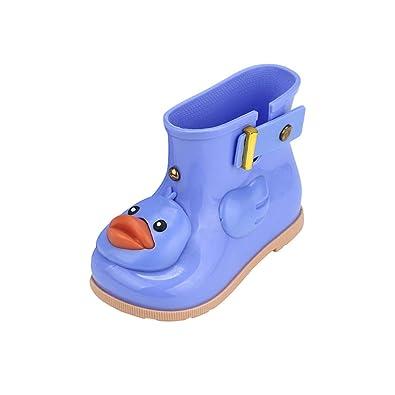 f5ea0bd877475 Angelof Cartoon Canard Caoutchouc Bottes ImperméAble Chaussures Pluie - Confortables  Fille GarçOn BéBé Unisexe Enfant Vetement