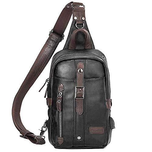 AISFA ボディバッグ 斜めがけバッグ ワンショルダー バッグ メンズ 肩掛けバッグ ボディばっぐ iPad収納可 USBポート 大容量bag アウトドア ランニング サイクリング 登山 散歩 通勤 通学