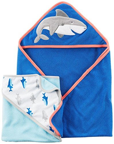 Carter's Carter's Baby Boys Bath Towels D04g048, Assorted, One Size ()