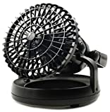 ProHT 2 in 1 LED Celling Fan and LED Lamp Black (04037)