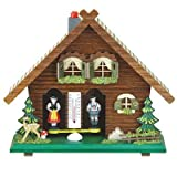 weather house barometer - German Black Forest weather house TU 818