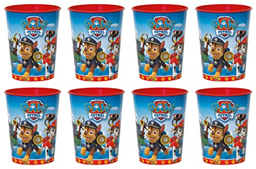 Paw Patrol 16oz Party Favor Plastic Cups 8 Pack