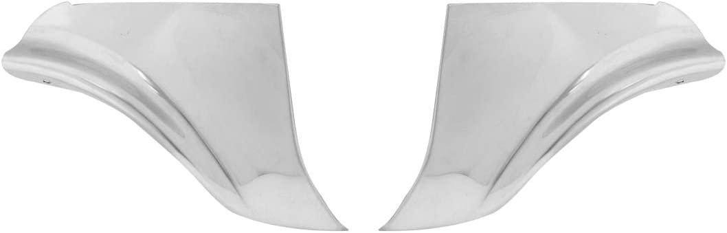 KNS Accessories KC0403 1958 Chevrolet Fender Skirt Stainless Steel Scuff Pads