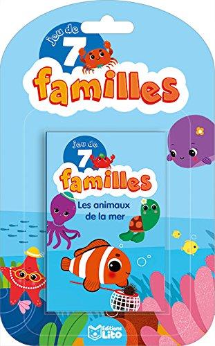 Jeux 7 Familles: Les animaux de la mer - Dès 5 ans