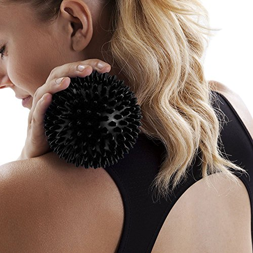 how to use massage ball on neck