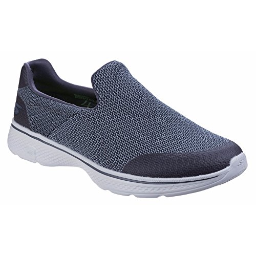 Skechers Herren Go Walk 4 Expert Slip On Schuhe Anthrazit