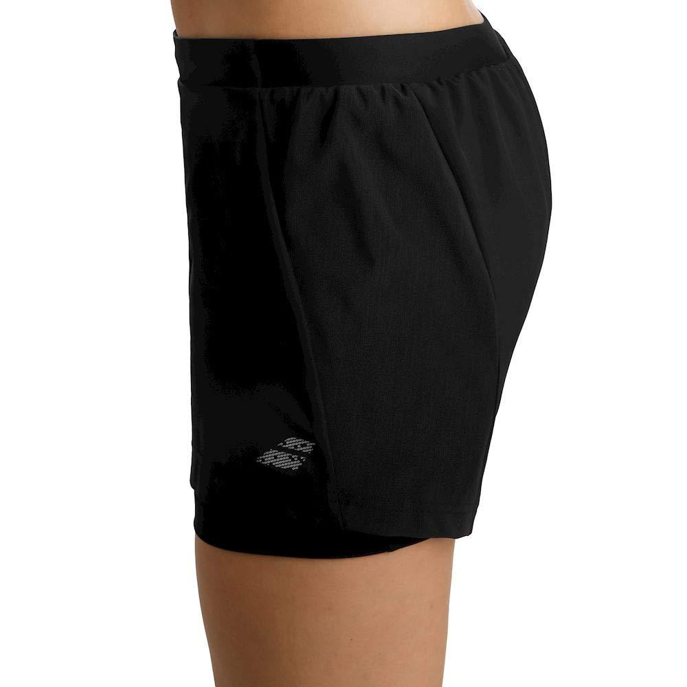 Babolat Womens Performance Lightweight Tennis Short, Black/Black (X-Small)