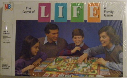 The Game of Life ~ A Family Game (1985 Edition) by Milton ()