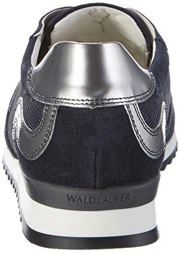 Waldläufer Hurly - Zapatos Mujer Blau (deepblue)
