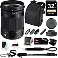 Sigma 18-300mm F3.5-6.3 DC Macro OS HSM For Canon w/ Accessory Bundle At A Glance Review Image