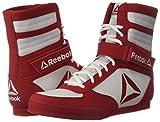 Reebok Men's Boot Boxing Shoe, White/Excellent