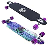 Karnage Drop Through Longboard (Purple)