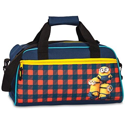 Minions 20457-0206 Kindersporttasche, 39 cm, 15 Liter, Rot/Blau