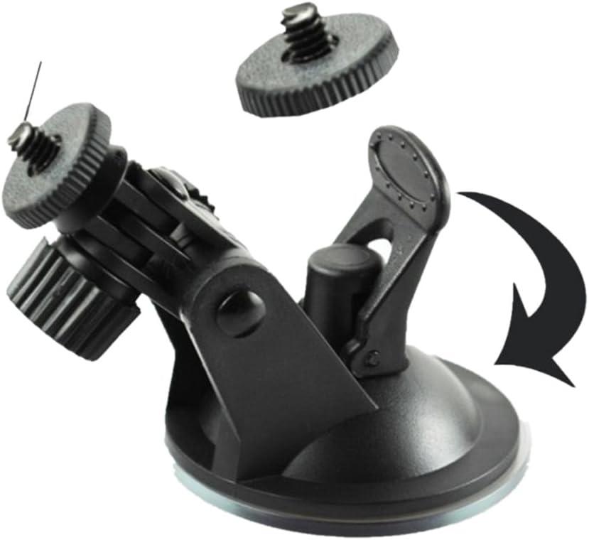 URVOLAX Suction Mount Tripod Holder for 7 Inch Wireless Monitor Flexible Windshield Dash Car Mounts