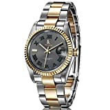 Mens business watch/ watch the calendar/Automatic mechanical men's Watch/ stainless steel-C