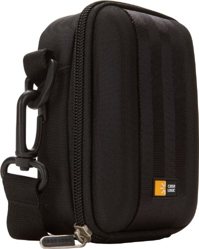 Case Logic QPB-202 EVA Molded Flash Camcorder or Medium Zoom Camera Case (Black)