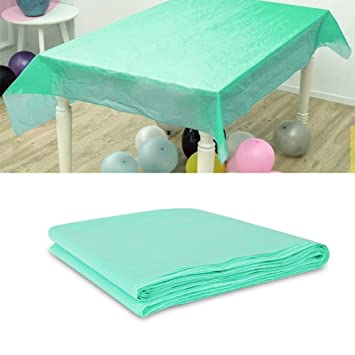 amazon com waterproof proof vinyl tablecloth merssyria plastic rh amazon com buffet table tablecloths spandex buffet table covers