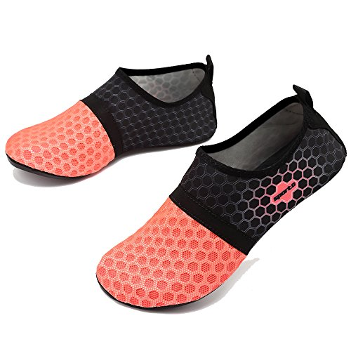 Water Shoes for Yoga Quick Red Swimming Shoes Drying RaBia Socks Beach Mens Breathable Diving Women qwZtIZ
