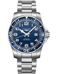 Longines Hydroconquest L36954036 41mm Silver Steel Bracelet & Case Synthetic Sapphire Men's Watch