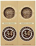 34 Degrees Whole Grain Crispbread, 4.5 oz Boxes, 2 pk Review