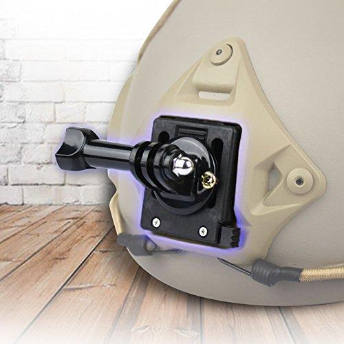 Tactical Helmet Accessories Front Bracket Mount,360