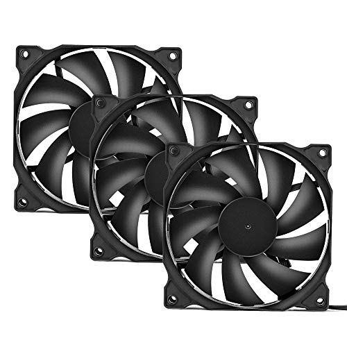 uphere 3-Pack Long Life Computer Case Fan