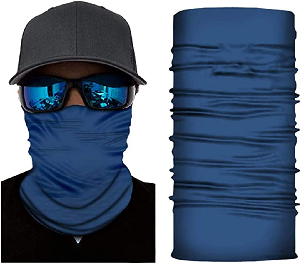 3D Print Cycling Scarf Seamless Rave Bandana Face Scarf for Men Women Dust Wind Sun UV Protection Scarf Cover by Pgojuni