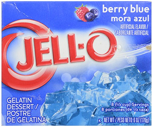 Jell-O Gelatin - Berry Blue - 6