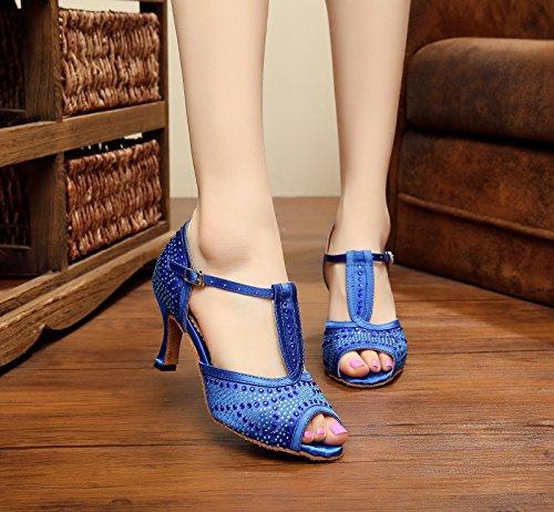 Miyoopark , Salle de bal femme - Bleu - Blue-7.5cm Heel, 35