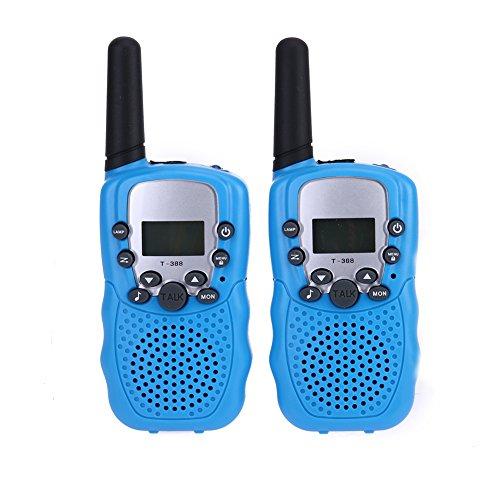Blimark Walkie Talkies for Kids, 22 Channel 2 Radio Way 3 Miles Range, Set of 2 Handheld Walkie Talkies for Outdoor Hiking Camping (Pack of 2)