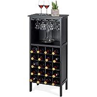 COSTWAY Botellero Vino con Soporte para 20 Botellas