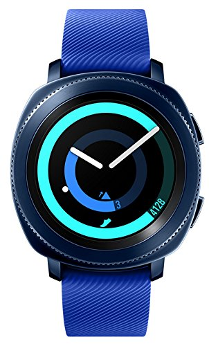 Click to buy Samsung Gear Sport Smartwatch Fitness Tracker- Water Resistant - International Version- No Warranty- Blue (SM-R600NZBATTT) - From only $279.99