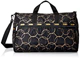 LeSportsac Large Weekender Bag, Gold Links, One Size