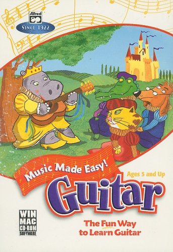 Music Made Easy -- Guitar: The Fun Way to Learn Guitar, CD-ROM PDF