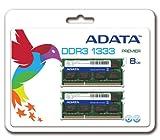 ADATA Premier DDR3 1333MHz 8GB (4GBx2) Memory Modules (AD3S1333C4G9-2)