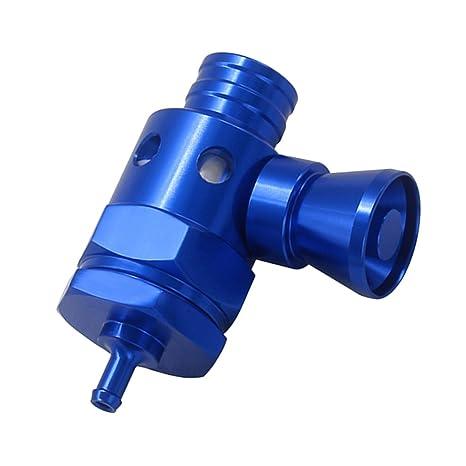 Sharplace Turbo Boost Válvula de Alivio de Presión de Soplado BOV con Silbador - Azul