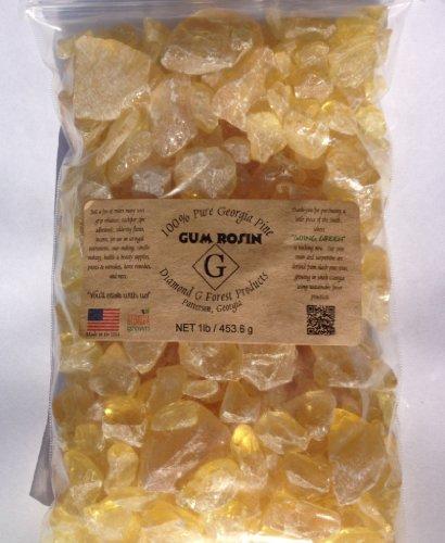 1 Lb Pine Gum Rosin (Gum Resin)