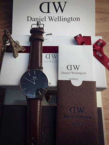 Daniel Wellington Classic white NEU NEW Men watch Classic Black brown Sheffield - Wellington Sunglasses