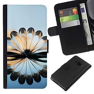 All Phone Most Case / Oferta Especial Cáscara Funda de cuero Monedero Cubierta de proteccion Caso / Wallet Case for HTC One M7 // Book Art Design Arhitecture Modern Random