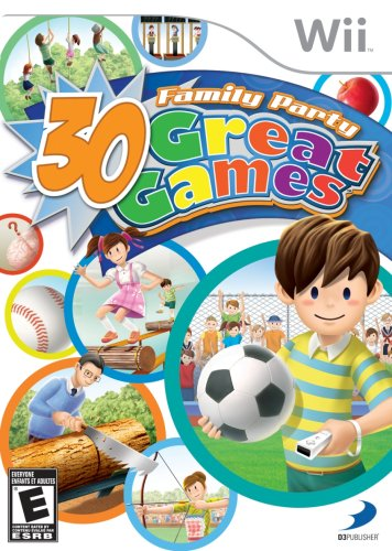 Family Party: 30 Great Games - Nintendo Wii (Family Party 30 Great Games For Wii)