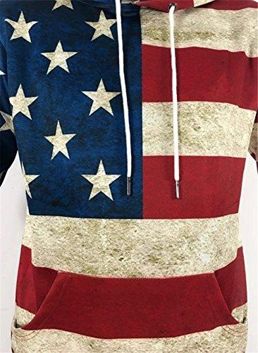 3d Y1760 capuche Hop impression Pizoff coloré 12 numérique imprimé Sweats avec Hip de sweatshirts de à unisexe 8PkXw0nO