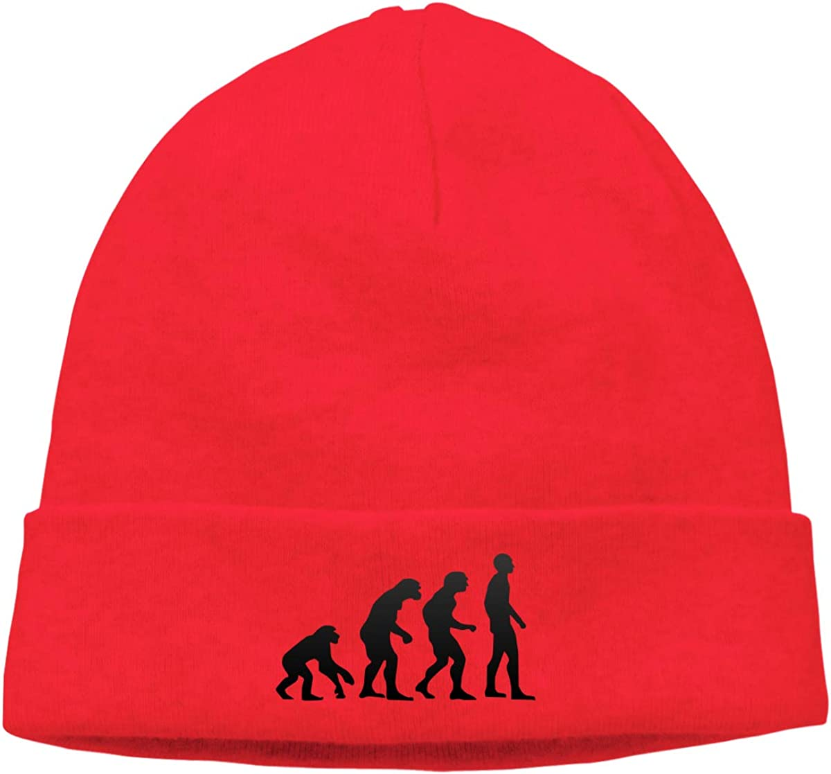 njsdi Evolution Men /& Women Stretchy /& Soft Knit Hat Cap