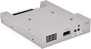 ASHATA Emulador de Disquetera USB,Unidad De Disquete Emulador para Yamaha Korg Roland órgano Eléctrico con 720KB Floppy Drive