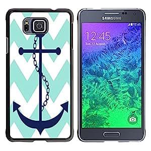 - chevron anchor boat - - Fashion Dream Catcher Design Hard Plastic Protective Case Cover FOR Samsung ALPHA G850 Retro Candy