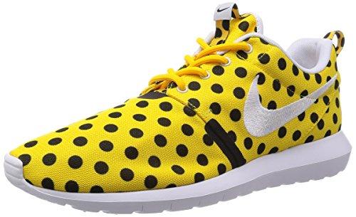 Nike Roshe Nm Qs Chaussures De Course, Vert Multicolore - Amarillo / Blanco Negro (varsity Ma?s Blanc-noir)