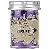 Stampendous, Micro Glitter, Purple