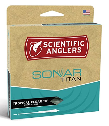 Scientific Anglers Sonar Titan Tropical Clear Tip Wf10-F/S ()