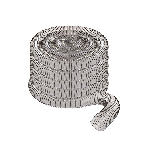 """2 1/2"""" x 50' CLEAR PVC DUST COLLECTION HOSE BY PEACHTREE for sale  Delivered anywhere in USA"""